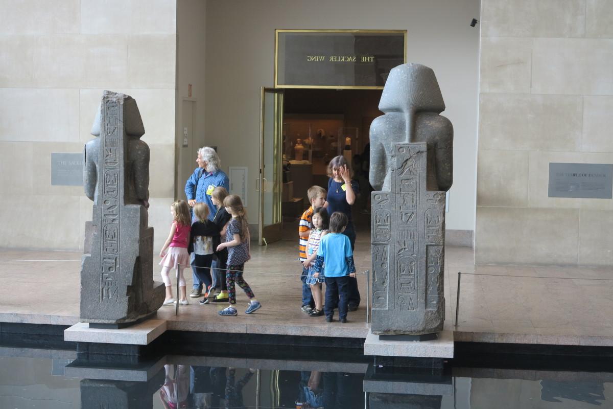 Сокровища древнего Египта мет for kids- тур для детей 12.03.2017