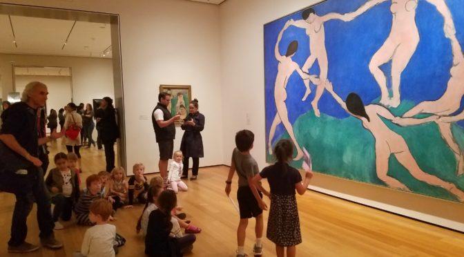 от Импрессионизма до Абстрактного Искусства. MOMA NY. Tур для детей